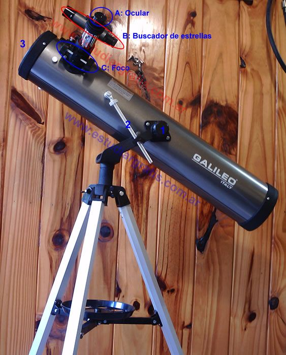 Guía De Usar Un Telescopio Reflector Con Imágenes Telescopio Telescopio Reflector Astronomico