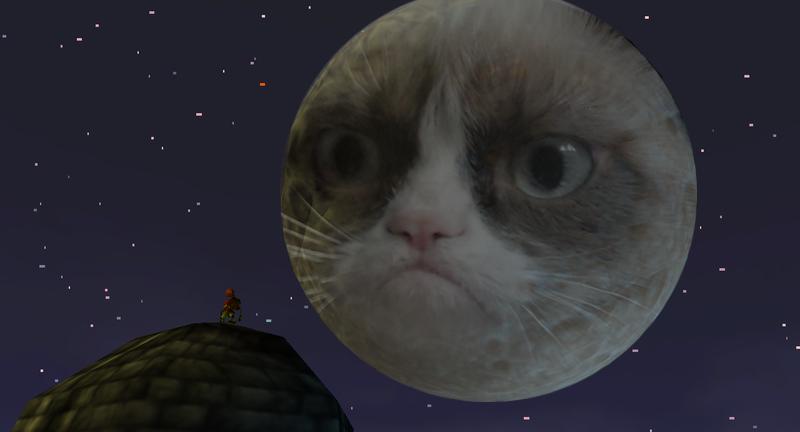 Majora S Mask Grumpy Moon By Super Smash Bros 64 On Deviantart Majoras Mask Grumpy Cat Majoras Mask Moon