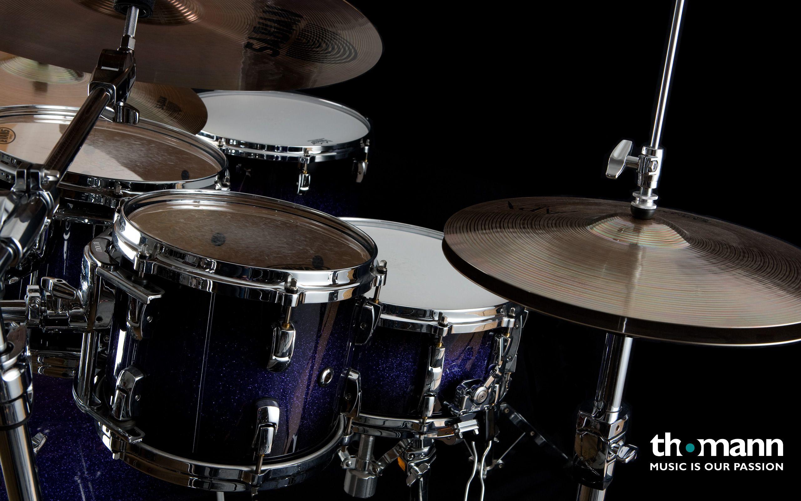 Drums Full Hd Wallpaper For Desktop Background Download