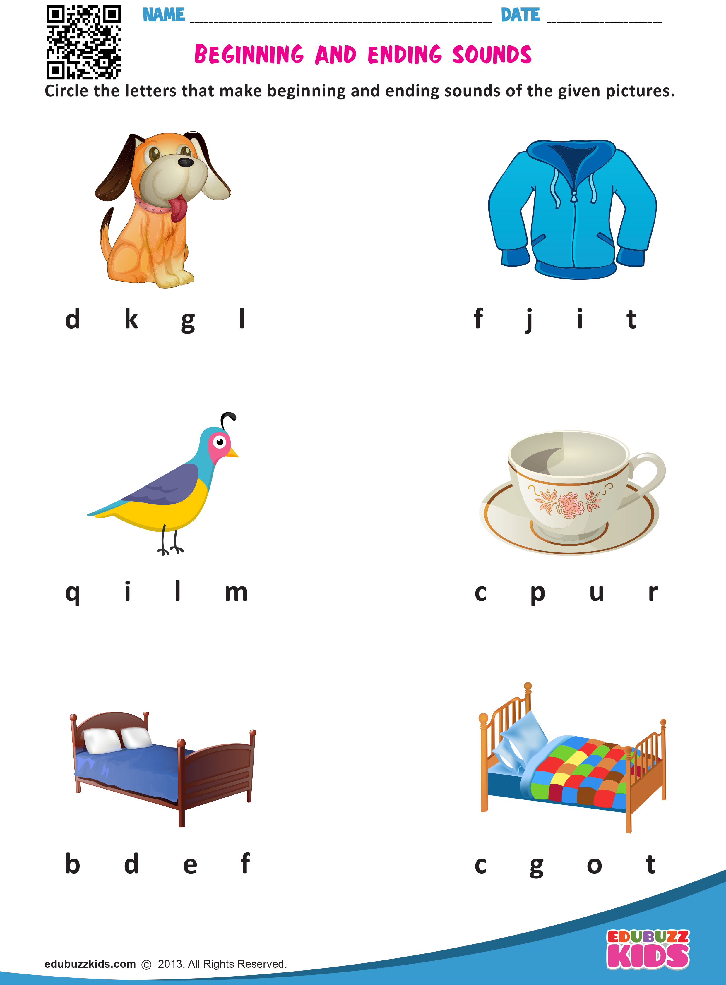 Printable Kindergarten Worksheets That Includes The