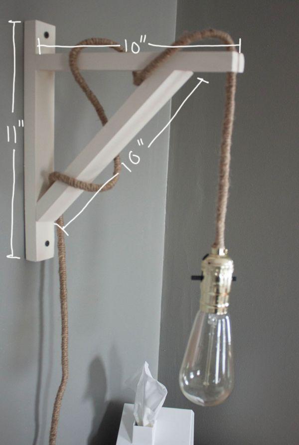 26 Industrial DIY Decor Ideas - From DIY Concrete Clocks to Metallic Tangle Lamps (TOPLIST)
