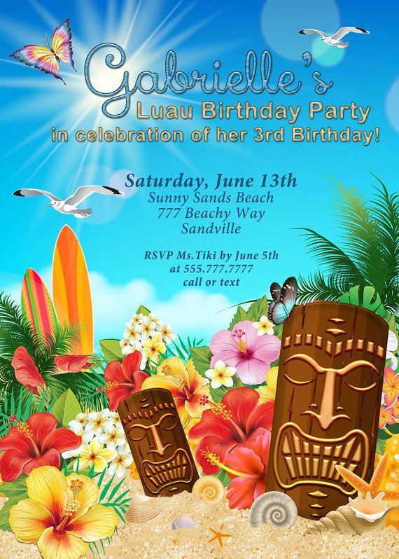 luau party invitations hawaiian theme party luau party beach