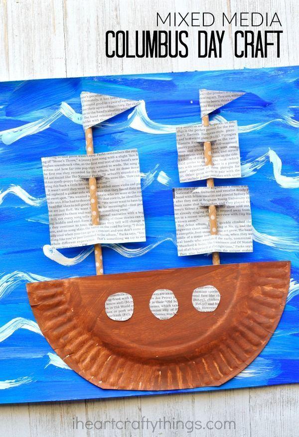 Columbus Day Children S Crafts
