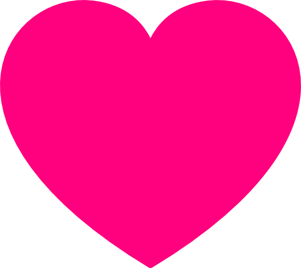 Vector Clip Art Online Royalty Free Public Domain Heart Coloring Pages Clip Art Pink Heart