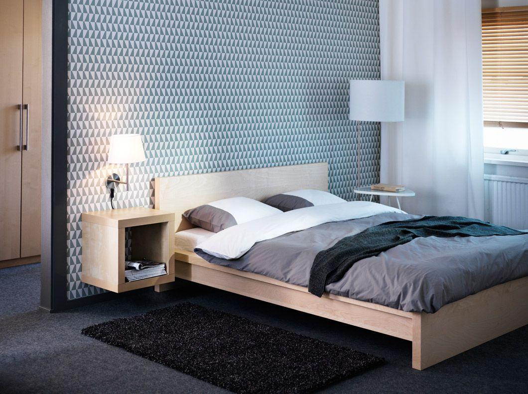 Malm bedroom white decor