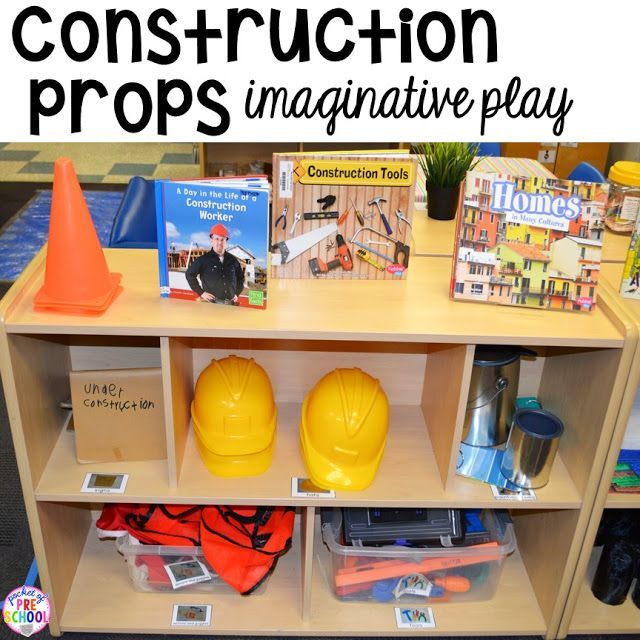 How to Set Up the Blocks Center in an Early Childhood Classroom #preschoolclassroomsetup
