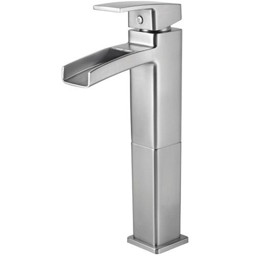 Pfister Pgt40Df0K Kenzo Vessel Filler Bathroom Faucet  Brushed Fair Pfister Bathroom Faucet Review