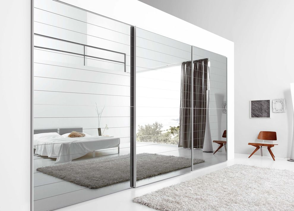 15 Ideas Of Ultra Modern Mirror Covered Furniture Mirror Closet