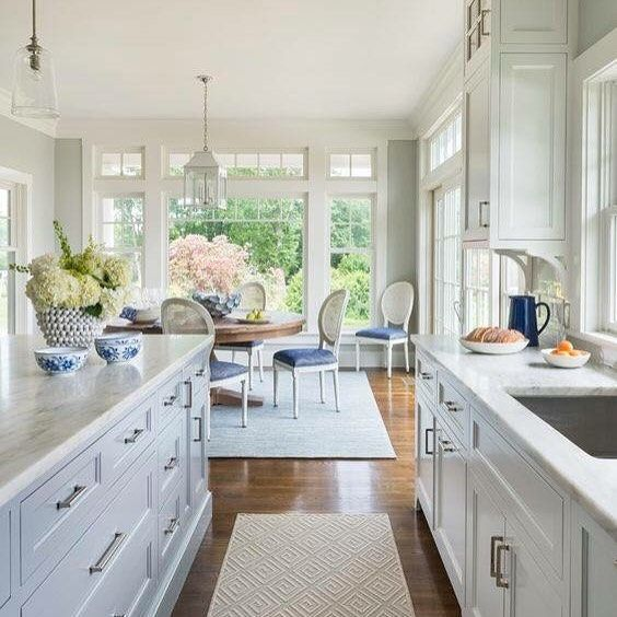 1 033 Likes 23 Comments Hamptons Style Hamptonsstyle On Instagram Pinterest Repost Gallerie B We Ar Home Kitchens Kitchen Design Kitchen Inspirations