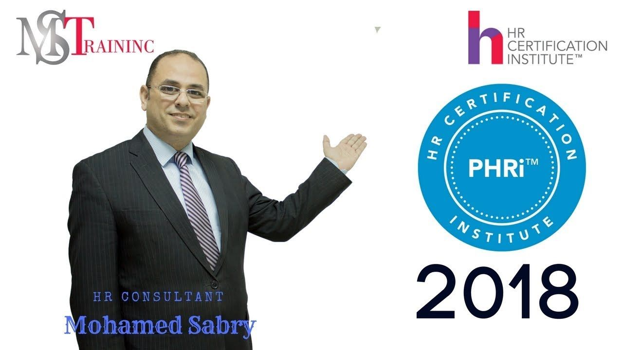 be hr certified by hrci phri 2018 preparation course for