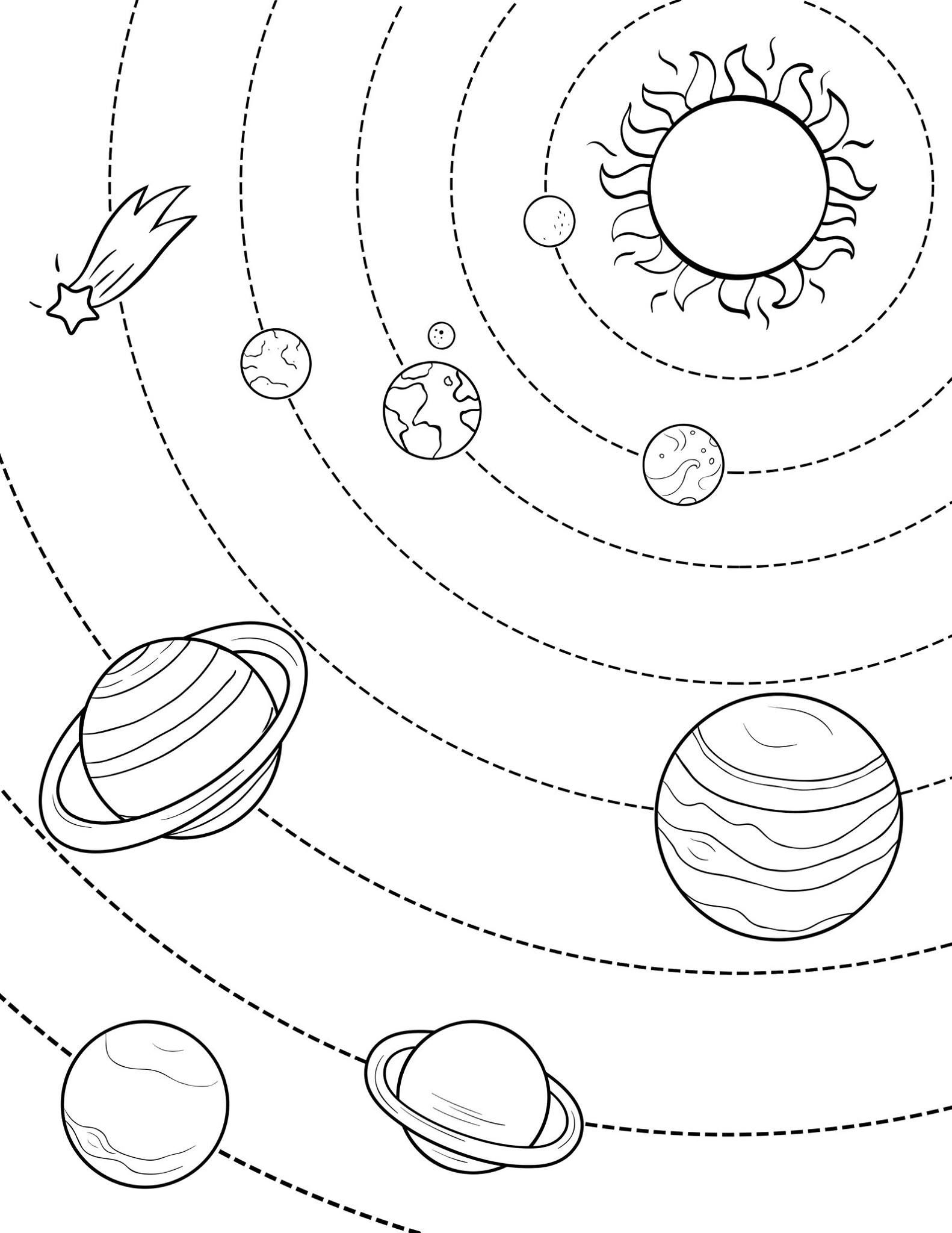Pin By Isabel Bermejo On Universo Solar System Coloring Pages Planet Coloring Pages Space Coloring Pages