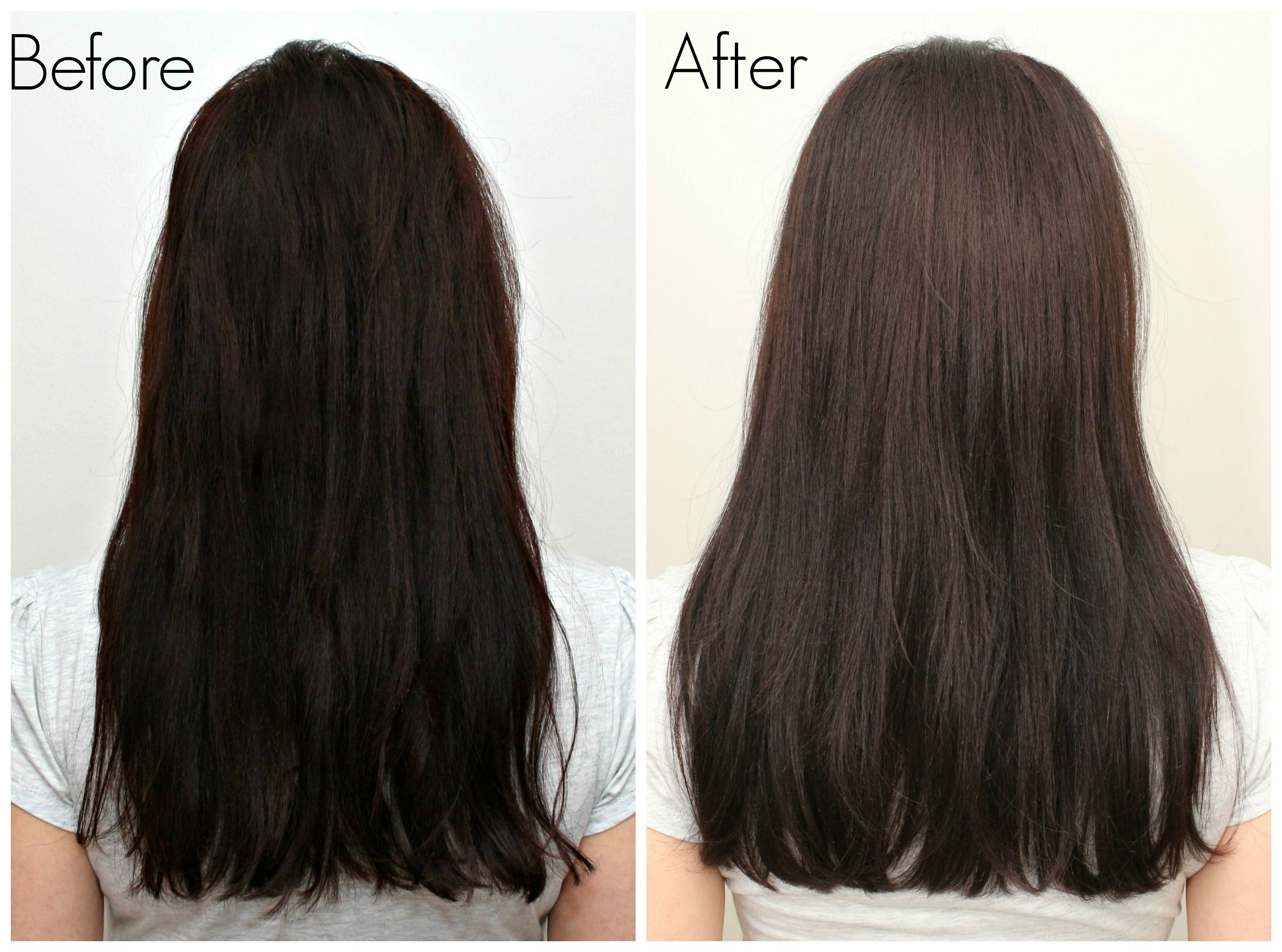 Clairol Age Defy Before_After   At home hair color Hair ...