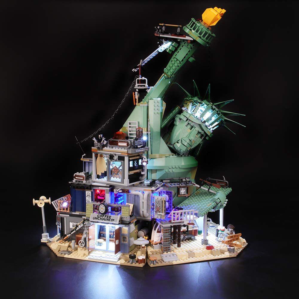 Briksmax Led Beleuchtungsset F R Lego Apocalypseburg Kompatibel Mit Lego 70840 Bausteinen Modell Ohne Lego Set In 2020 Lego Sets Lego Led