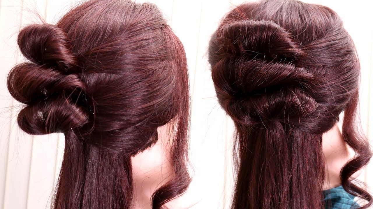 3 step hair style for long hair girls || short hair style