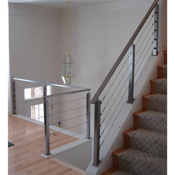Best Stair Railing Installation Cost Home Renovation Steel 640 x 480