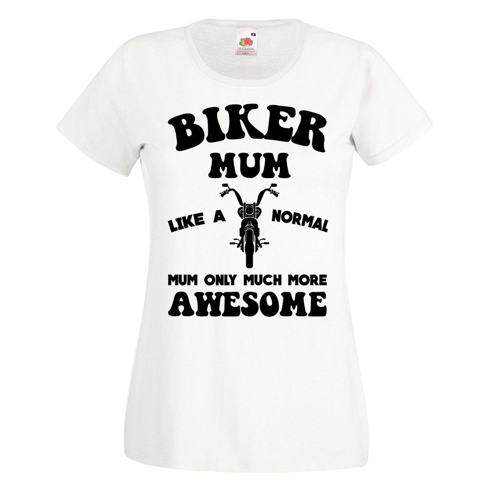 Biker Mum 2018 T-shirt – Birthday Gift For Her