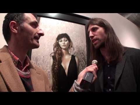 Brad Kunkle: Artist Spotlight (New York 2012) 'Resolve' at the Joshua Liner Gallery - YouTube