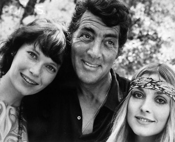 Mia Farrow, Dean Martin & Sharon Tate In Joshua Tree, CA