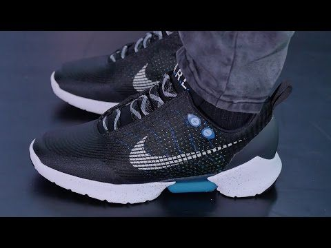 Nike Unveils Self-Lacing Sneakers Inspired by Back to the Future | Oddity  Central -