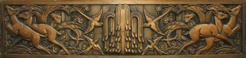 Art Deco wall panel