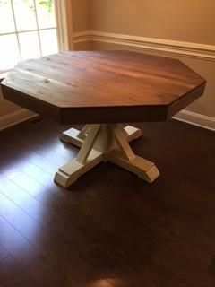 Octagon Table Do It Yourself Home Projects From Ana White