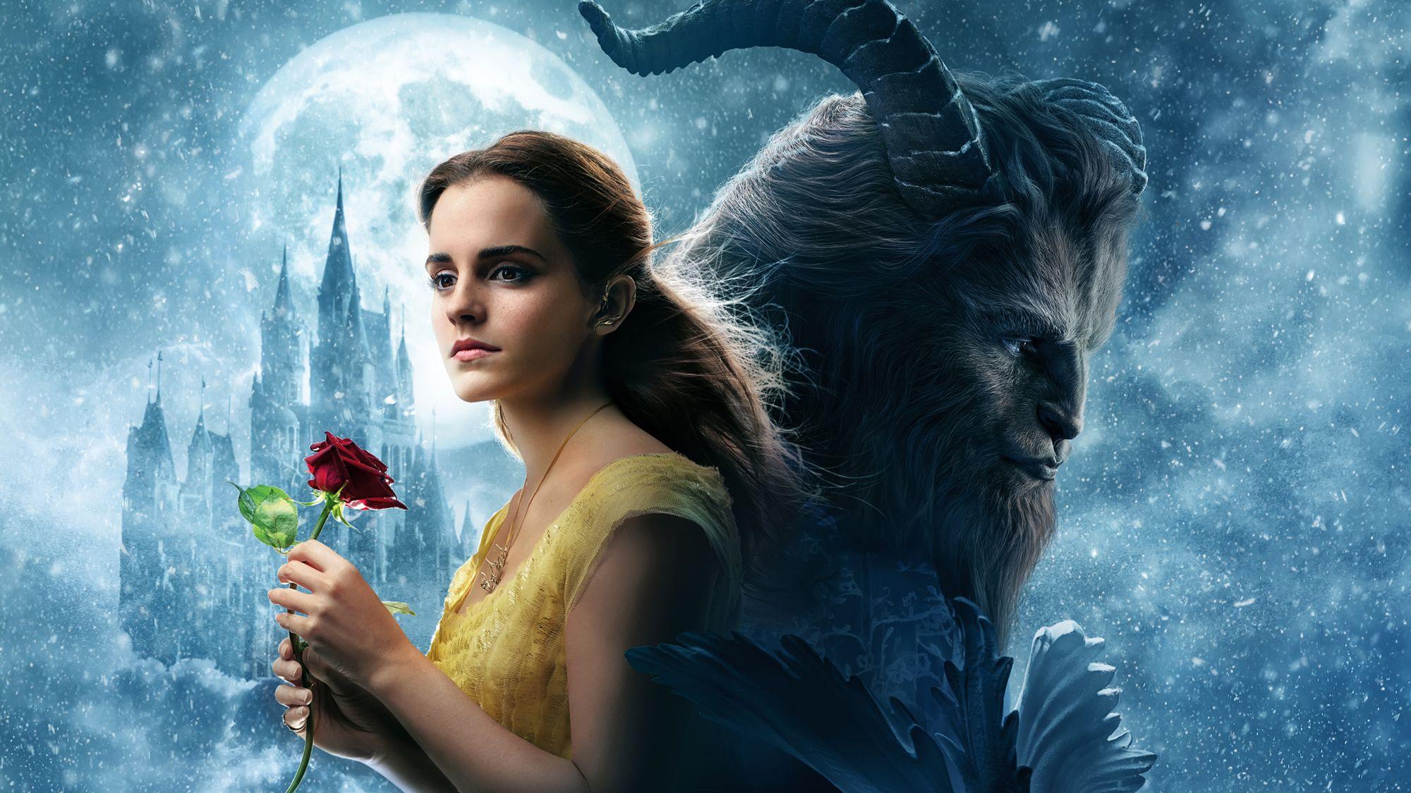 La Bella Y La Bestia Historia De Amor B//W cross stitch chart buy 1 Get 1 Mitad De Precio