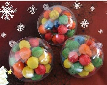 Comment d corer et garnir des boules de no l transparentes des id es de d cos noel hiver - Comment decorer une boule de noel transparente ...