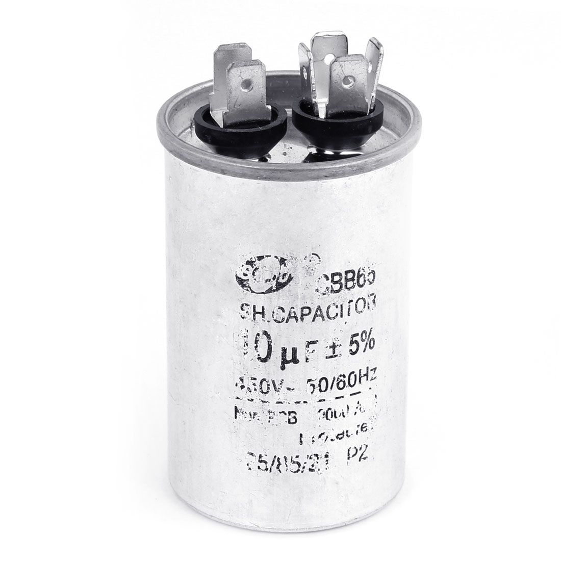 Uxcell Polypropylene Film Electric Motor Fan Capacitor 450vac 10uf Cbb65 10uf 12uf 15uf 16uf 20uf 25uf Af Electrical Equipment Electricity Capacitor