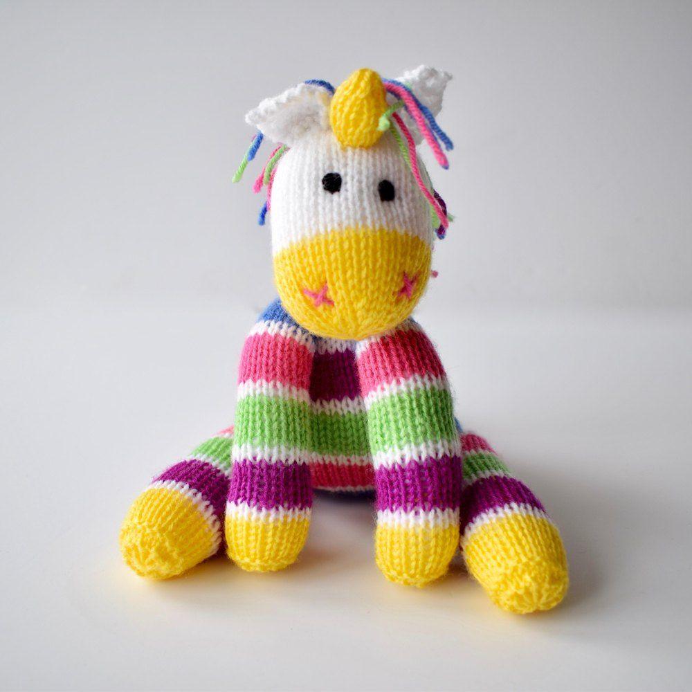 Aurora the Unicorn Knitting pattern by Amanda Berry ...