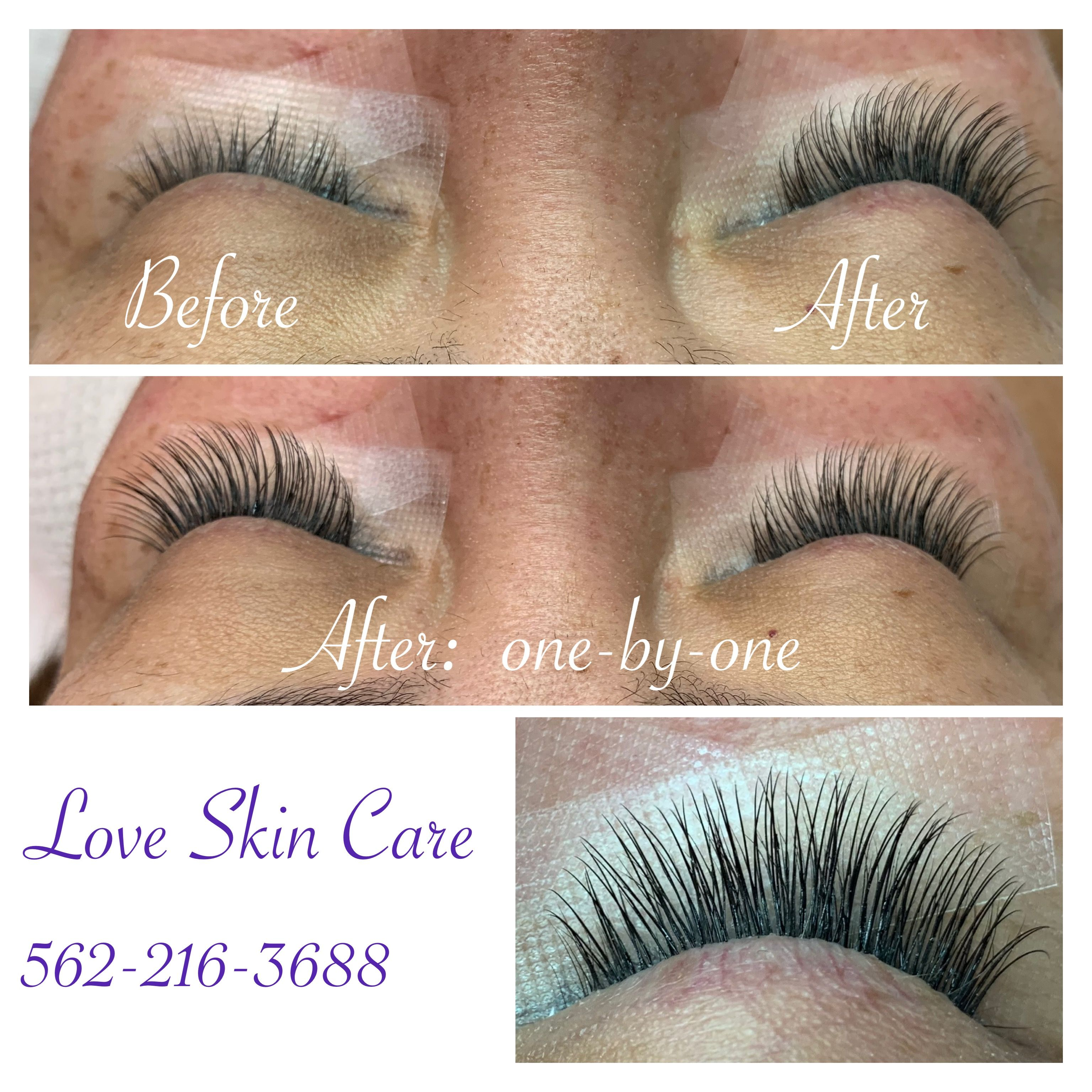 16398c047bd Before And After eyelash extensions. Find this Pin and more on Eyelash  Extensions and Skin Care Services by Love ...