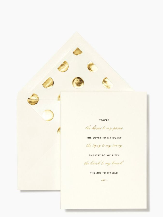 Hocus to My Pocus Bridesmaid Card Set, Kate Spade http://www.shopstyle.com/action/loadRetailerProductPage?id=458112961&pid=uid7609-25959603-56
