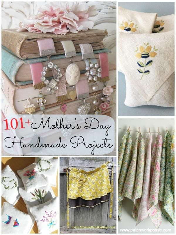 mothers day handmade projects | patchwork posse #mothersday #handmade