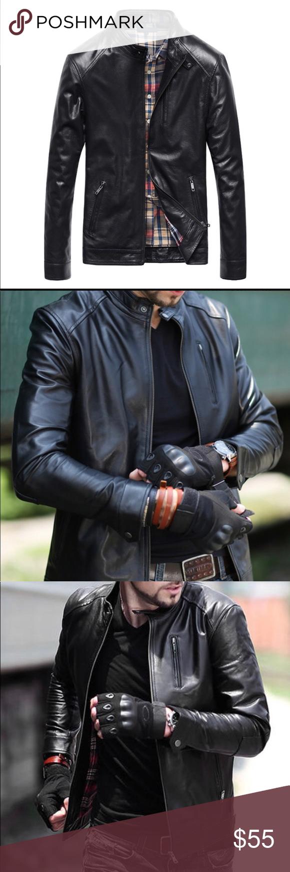 THOOO New GENTLEMEN Blk leather Motorcycle jacket THOOO