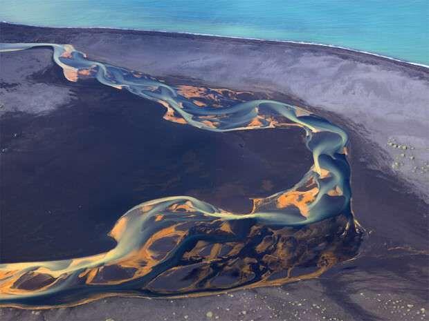 Photo of Luftbilder des vulkanischen Islands Gemischter Grill