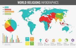 Carte Du Monde Des Religions.Epingle Sur Religions