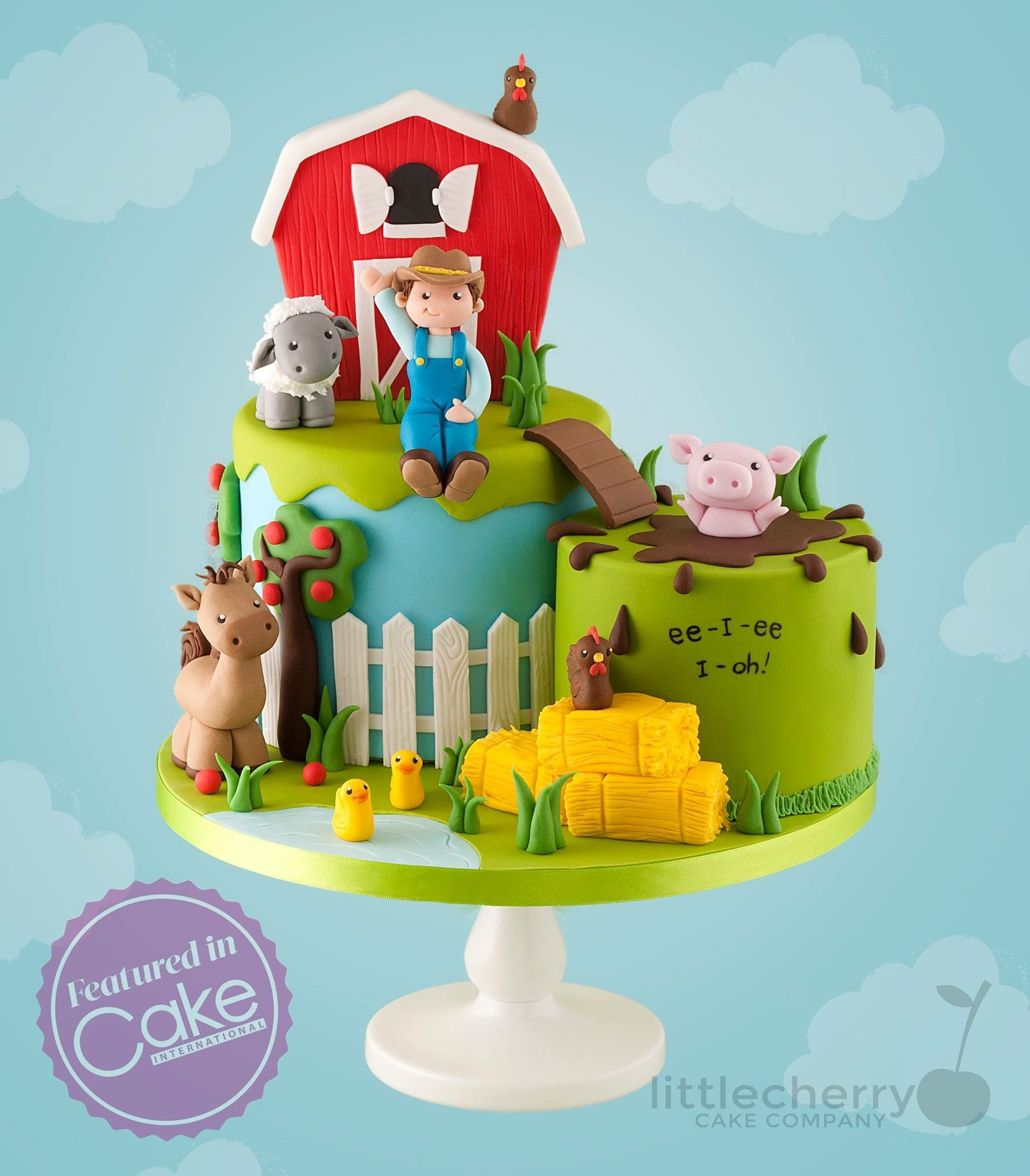 Wondrous Pin By Deb Elliott On New Bday Cake Ideas In 2020 Farm Birthday Birthday Cards Printable Nowaargucafe Filternl