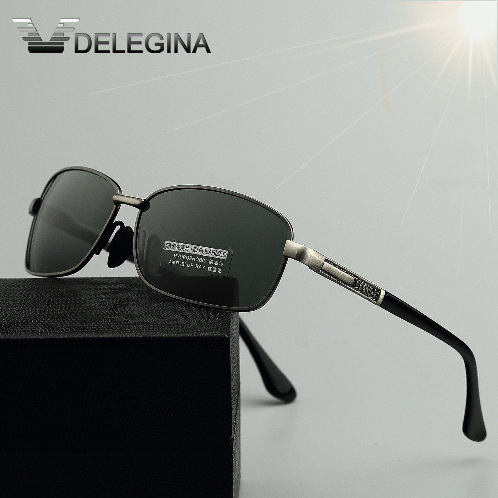 1677f87721b3 Delegina Men s HD Polarized Sunglasses