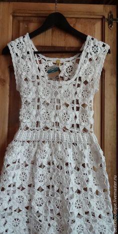 Vestido de Crochê                                                                                                                                                                                 Mais