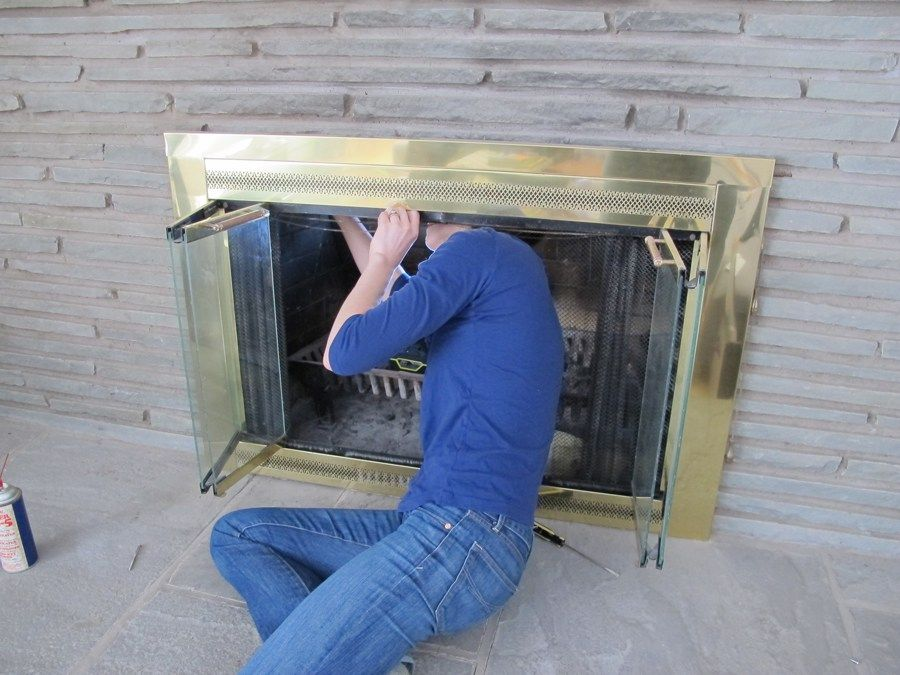 Less Is More How To Remove A Fireplace Surround Fireplace Cover