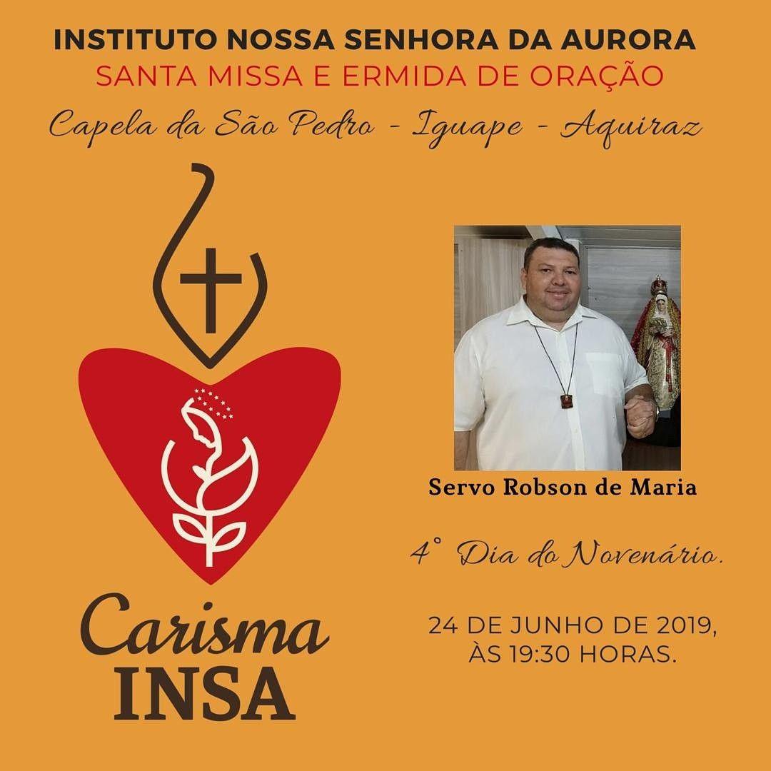 Carisma Insa Ave Maria Instituto Nossa Senhora Da Aurora Insa