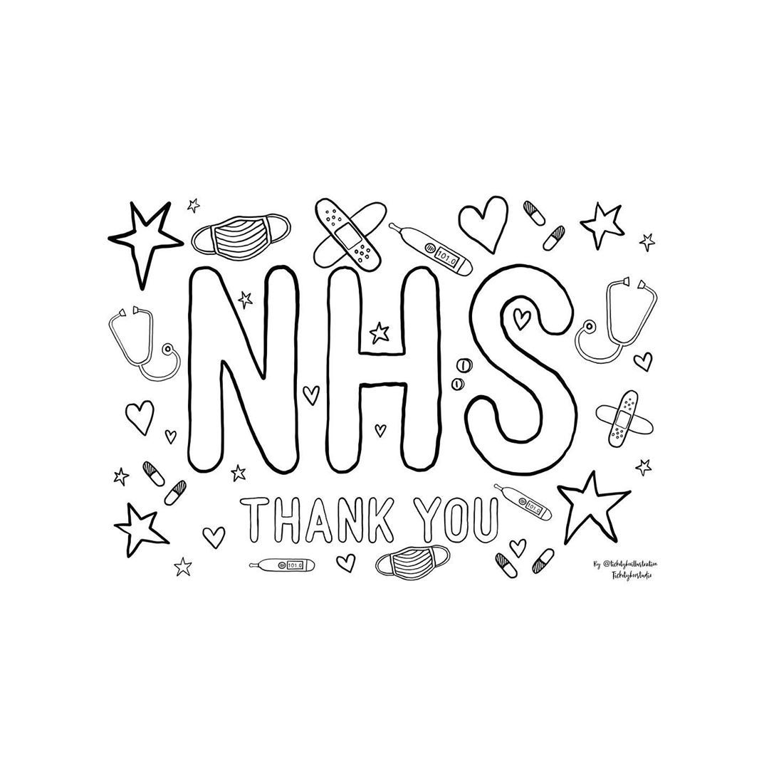 Ticketybooillustration On Instagram Free Free Free Nhs Colouring Available On In 2020 Quote Coloring Pages Templates Printable Kids Free Printable Coloring Pages