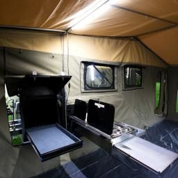 Explorer Rear Fold | MDC Camper Trailers & Off Road Caravans