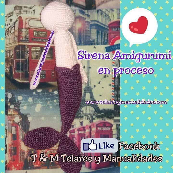 Tejiendo #sirena #mermaid #crochet en proceso  #crochetaddict #crocheting #crochettime http://bit.ly/1pvFZ5e  Facebook: T & M  Telares y Manualidades               #colombia #bogota #bogotadc  #cali #cartagena #cucuta #barranquilla #monteria #manizales #pereira #valledupar #villavicencio #tunja #medellin #bucaramanga #sanandres #telaresymanualidades #ganchillo #instacrochet #crochetlove #crochetconcupiscence #örgü #crochetofinstagram #crochetgeek by telaresymanualidades