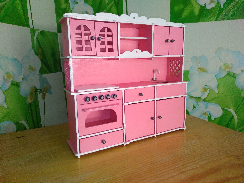 Kitchen set for Barbie Kitchen set for 12 inch doll Barbie