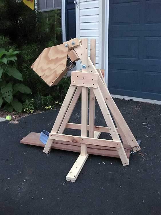 Tuning a trebuchet for maximum distance a look at the components and variables do it for Catapult design plans for physics