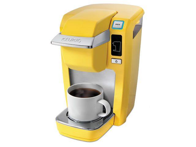 K Cup K10 Mini Coffee Maker By Keurig In Banana Yellow 100 Bed Bath Beyond Keurig Mini Yellow Coffee Keurig