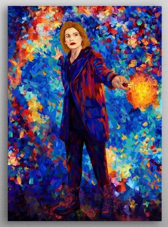 Doctor Who Displate