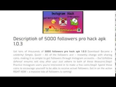5000 followers pro hack apk 1 0 3 Free Download   5000 Followers For