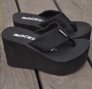 Pin By Melissa Mallma Jimenez On Zapatos Variados Heeled Flip Flops Platform Flip Flops Womens Flip Flops