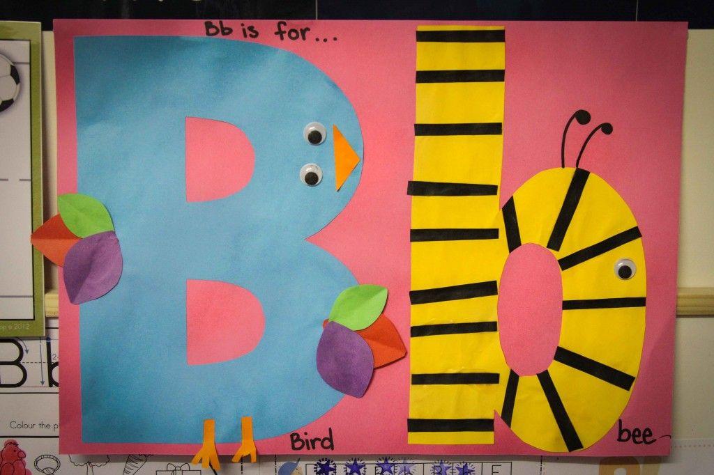 Preschool Letter B | Preschool letters, Letter b crafts ...